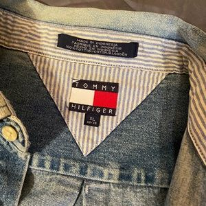 Vintage Tommy Hilfiger Denim Button Up